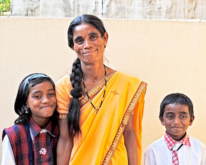 Priya's family