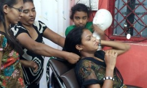 Beauty therapy training