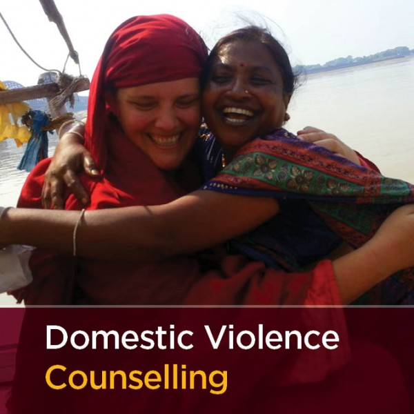 sponsor a domestic violence conselling